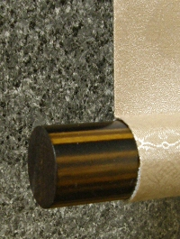 Roller End made of Wood