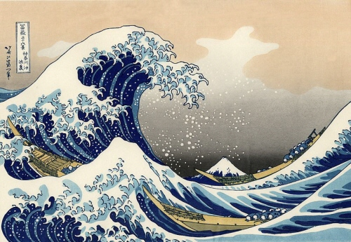 The Great Wave off Kanagawa, from 36 Views of Mount Fuji