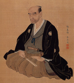 Portrait of Rai Sanyo, painted by Hoashi Kyou