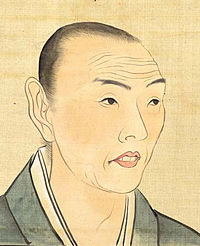 Self-Portrait of Tani Buncho around 40 years old
