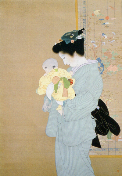 Boshi, Mother and Child 1934