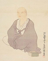 Portrait of Yosa no Buson painted by Goshun