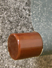 Lacquered Roller End