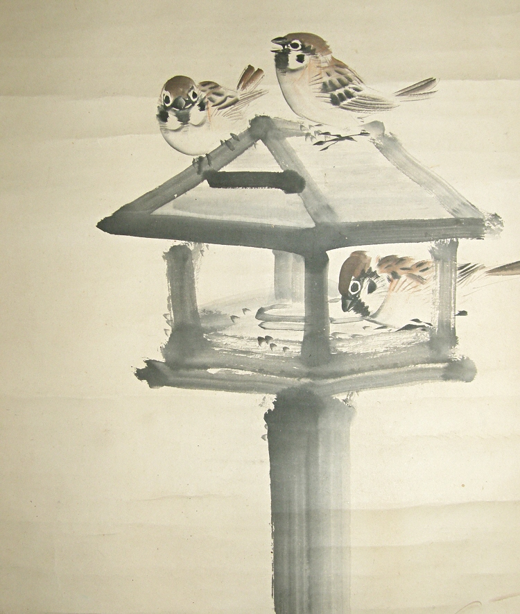 Japanese Sparrows