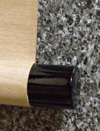 Lacquered Roller End made of Wood