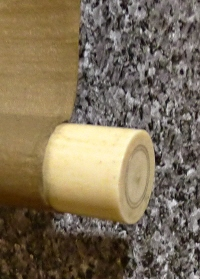 Jikusaki Roller End made of Zouge Ivory