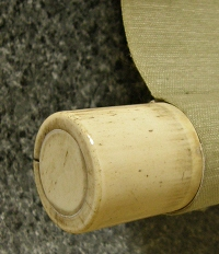 Roller End made from Antler