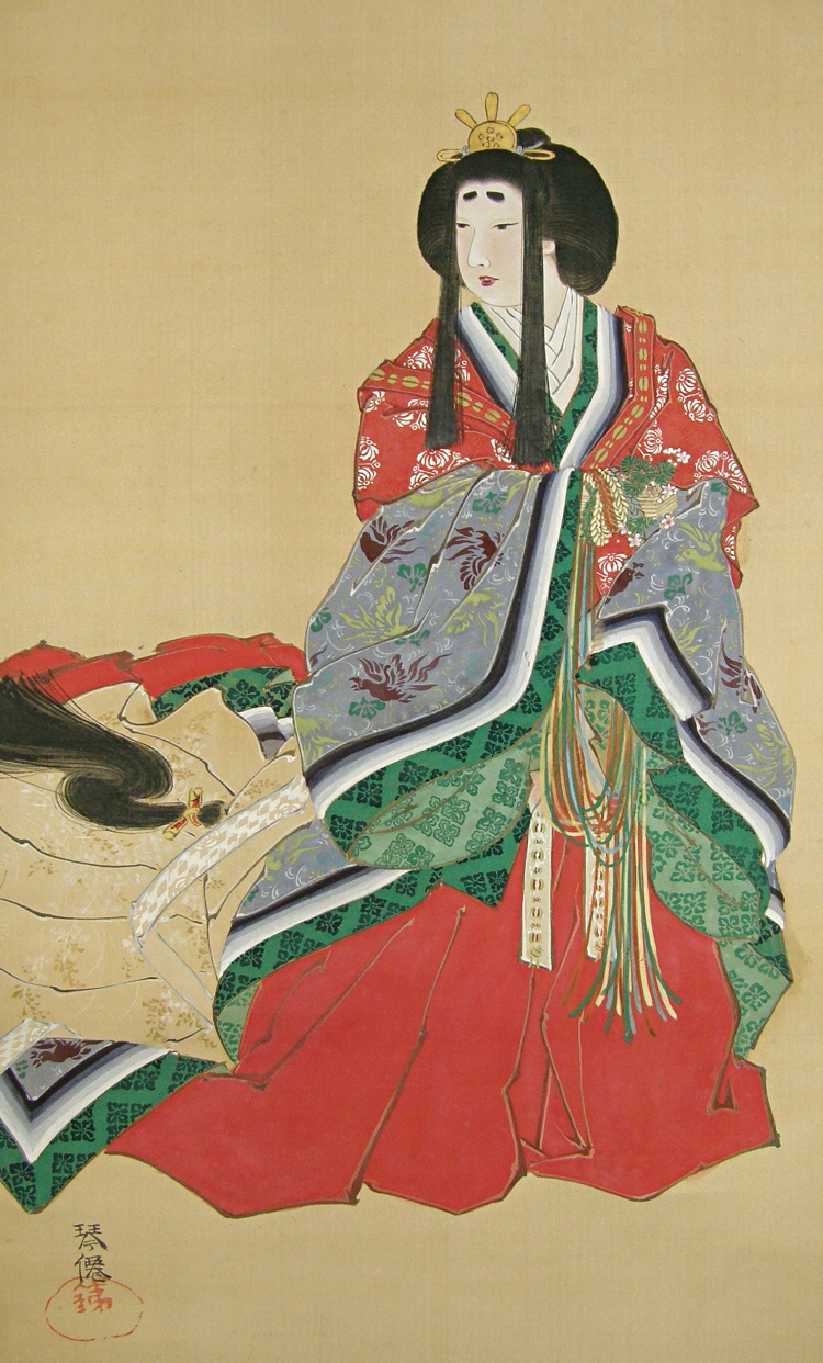 Nyokan, Japanese Old-Time Court Noble Lady