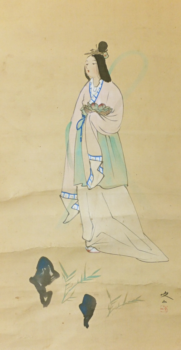 Japanese Beautiful Girl in the Heian Period