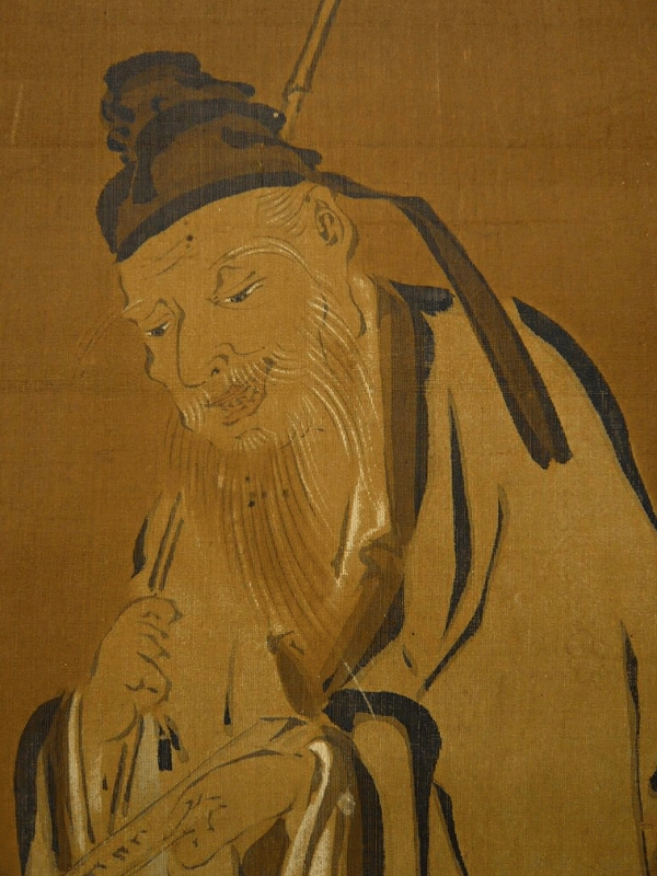 Jurojin God, one of the Seven Deities of Good Fortune