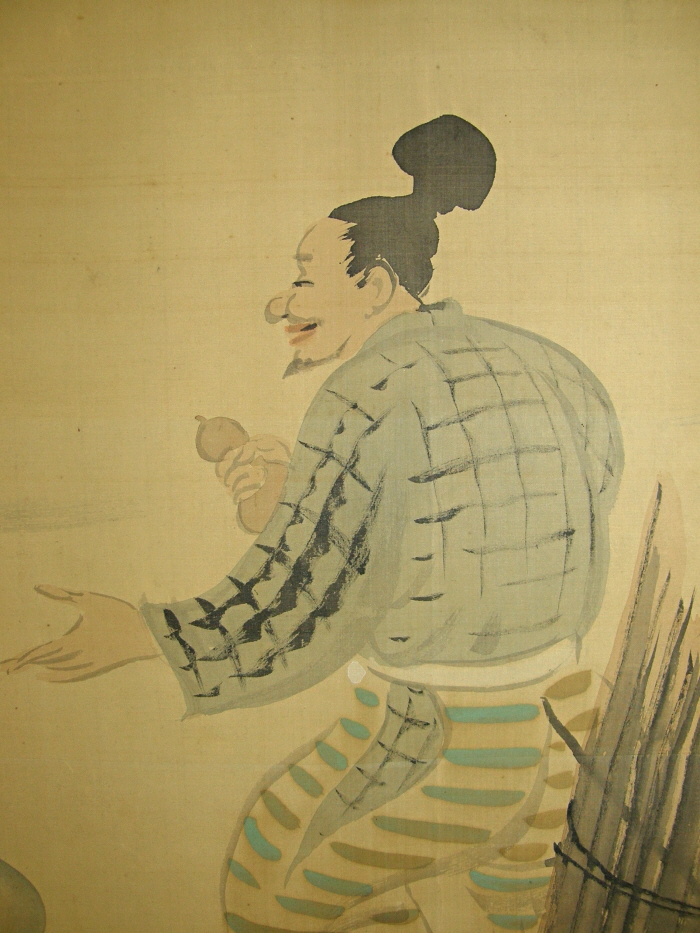 Man from Ancient Event of Japan