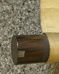 Roller End made of Ebony Wood