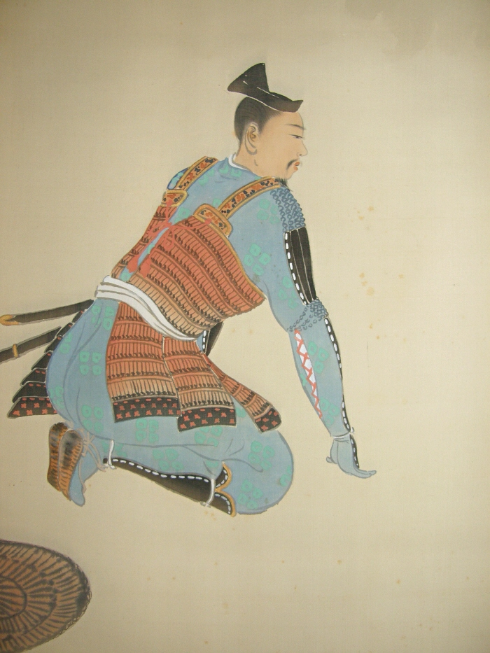 Samurai Warrior wearing Yoroi Armor