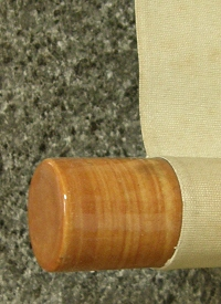 Roller End made from Pottery