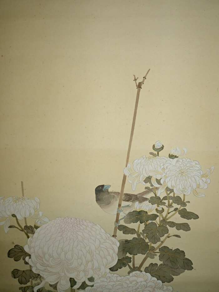 Japanese Birds-and-Flowers Painting