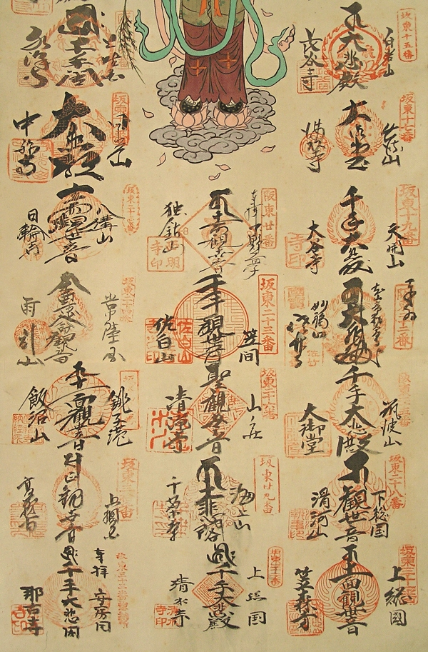 Buddhistic Signatures and Stamps